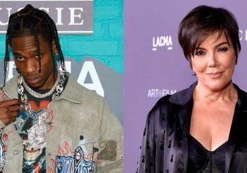 Travis Scott & Kardashian Family React to Kylie Jenner's Birth Announcement