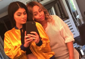 Kylie Jenner nennt Blac Chyna ihre beste Freundin in Snapchat Pic