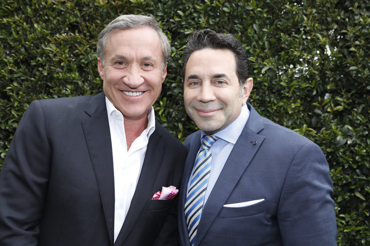 Dr. Terry Dubrow (L) and Dr. Paul Nassif.
