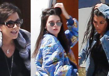 Kris Jenner Jets Kardashian Family in überraschender Lage