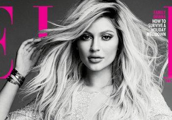 Kylie Jenner spricht über Gerüchte über Tyga, Caitlyn und Plastische Chirurgie für 'Elle Canada' Dezember 2015 Cover