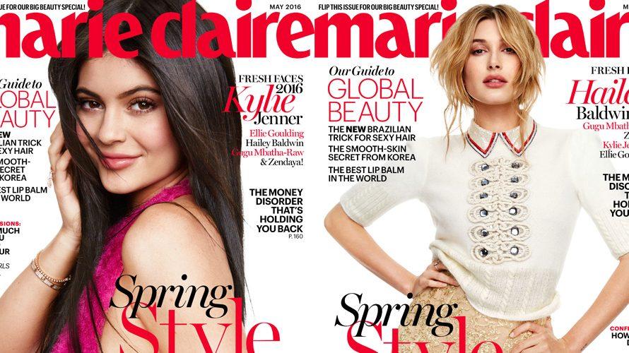 Kylie Jenner spricht über Caitlyn, Hailey Baldwin Kommentare zu Justin Bieber für Marie Claires Fresh Faces Issue