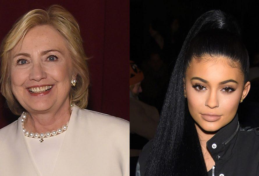 Kämpft Hillary Clinton um Kylie Jenners Unterstützung?