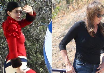 Caitlyn Jenner besucht Tochter Kylie bei einem Fotoshooting